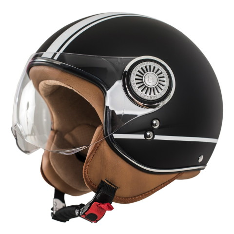 "monaco helmets "" Stripes Nero"""