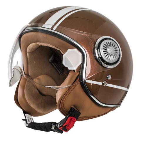 "monaco helmets "" Stripes Castagno"""